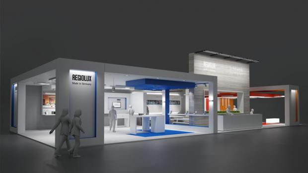 Regiolux Messestand Light + Building 2014