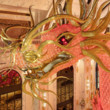 Kristall-Drachen von Lasvit im Imperial Palace auf Saipan